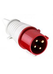 Вилка 3P+PE 16А 380В IP44 ЭКФ ps-014-16-380