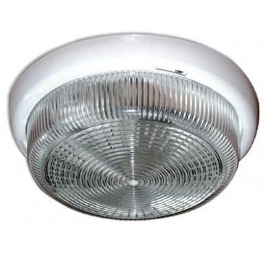 Светильник НБО 23-100-001 Раунд d240 1х100Вт E27 IP44 корпус бел. Элетех 1005500569