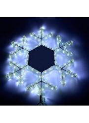 Фигура Снежинка светодиодная белая 9Вт NEON-NIGHT 501-212-1