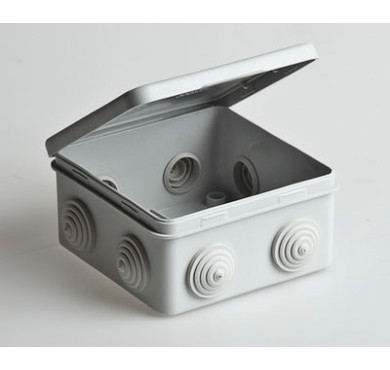 Коробка распределительная ОП 100х100х50 IP54 Рувинил 67045