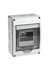 Бокс ОП 5 модулей IP65 с прозр. дверью Рувинил 69005