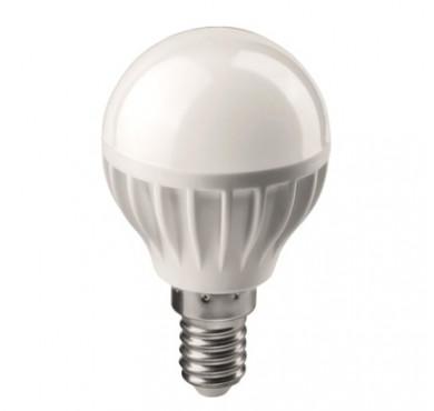Лампа светодиодная 71 643 OLL-G45-6-230-2.7K-E14 6Вт шар 2700К тепл. бел. E14 450лм 176-264В ОНЛАЙТ 19210