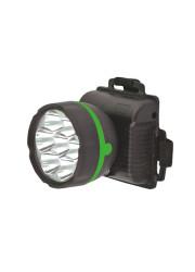 Фонарь светодиодный налобный 909LED7 (7LED 1 режим; 3хR6 черн.) Ultraflash 11782