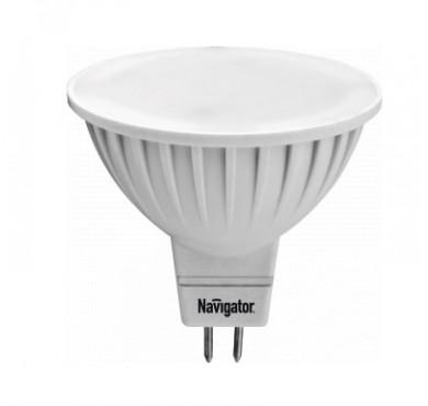 Лампа светодиодная 94 244 NLL-MR16-7-230-3K-GU5.3 7Вт 3000К тепл. бел. GU5.3 480лм 170-260В Navigator 18869