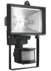 Прожектор ИО150Д ИЭК датчик движения черный