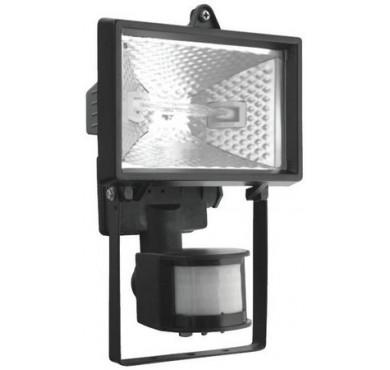 Прожектор ИО500Д ИЭК датчик движения черный
