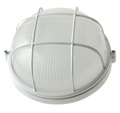 Светильник НПП 1102 белый круг решетка 100Вт IP54 ИЭК