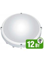 Светильник светодиодный 94 826 NBL-R1-12-4K-WH-IP65-LED 12Вт 4000К IP65 Navigator 18215