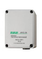 Фотореле AWZ-30 встроенный фотодатчик 230В 30А 1НО IP65 F&F ЕА01.001.004