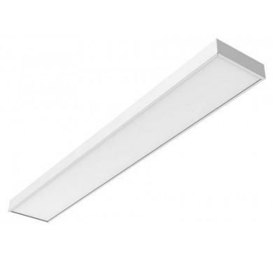 Светильник светодиодный LED Премиум 1195х180х50 36Вт 3950К IP40 для школ аварийный встраив./наклад. без рассеив. VARTON V1-E0-00270-01A00-4003639