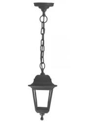 Светильник Basis подвес черн. пластик прозр. стекло IP44 E27 60Вт DUWI 24136 2