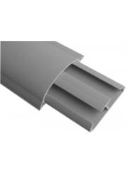 Кабель-канал напольный CSP-F (CSP-N) 75х17 G (дл.2м) серый ДКС 01332