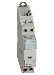 Контактор модульный 25А/2п 2НО 230В CX3 Legrand 412523