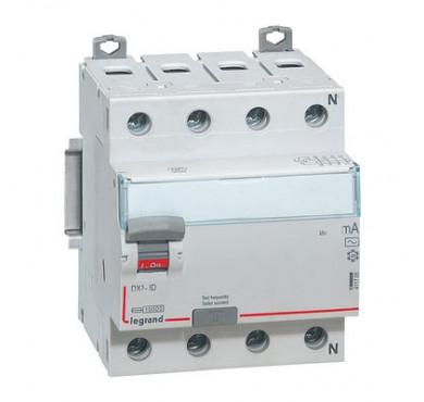 Выключатель диффер. тока 4п 25A 30mA тип AC DX3 Legrand 411702