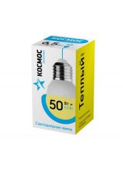 Лампа светодиодная LED BASIC GL45 6.5Вт 220В E27 3000К Космос LkecLED6.5wGL45E2730