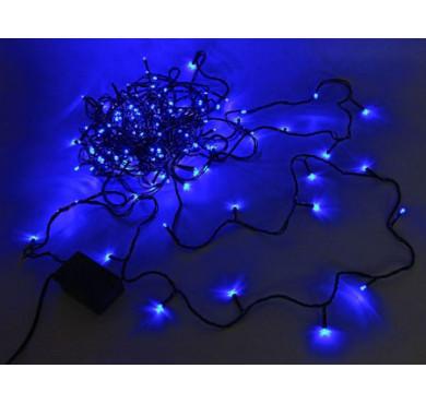 Электрогирлянда ILD120C-GB 120LED 12м 8 реж. син. IP20 SHlights 4690601041913