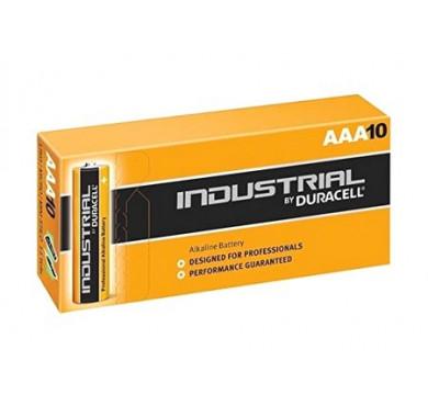 Элемент питания ААА Industrial LR03 (карт. коробка 10шт) Duracell Б0014867