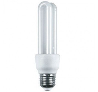 Лампа КЭЛP-2U Е27 15Вт 4000К Т4 ECOLIGHT ИЭК LLEP10-27-015-4000-T4