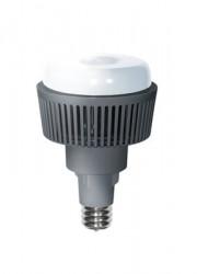 Лампа светодиодная KOSMOS premium LED 45Вт E40 230В 4500К (переходник с цоколя E40 на E27 в комплекте) Космос KHWLED45WE4045