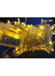 Электрогирлянда 120 светодиод. с доп. подключ. до 20 доп. модулей 12м жел. SHLights LD120-Y-E