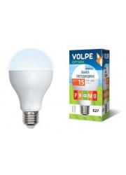 Лампа светодиодная LED-A65-15W/NW/E27/FR/O VOLPE UL-00000186