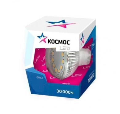 Лампа LED JCDR 7Вт 220В GU5.3 3000К Экономка Космос
