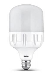 Лампа светодиодная LED40-HW/845/E27 40Вт цилиндр 4500К белый E27 3520лм 220-240В Camelion 11983