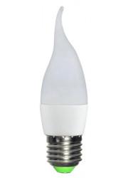 Лампа светодиодная LED 5Вт Свеча на ветру E27 6500К ЭКОНОМКА Eco_LED5wCWE2765