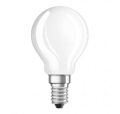 Лампа светодиодная LEDSCLP60 6.5W/840 6.5Вт 4000К тепл. бел. E14 550лм 230В FR FS1 OSRAM 4058075134263