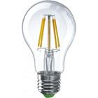 Лампа светодиодная LED Филамент 8Вт A60 160-260В E27 850лм 2700К ЭКОНОМКА EcoLedFL8wA60E2727