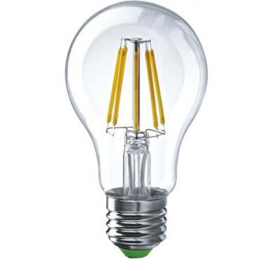 Лампа светодиодная Filament А60 E27 10Вт 4100К GAUSS 102802210