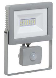 Прожектор светодиодный LED СДО 07-30Д 30Вт IP44 6500К с датчиком движ. сер. ИЭК LPDO702-30-K03