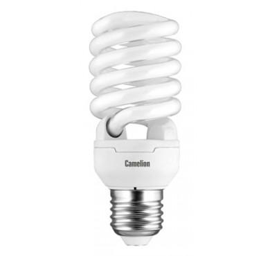Лампа люминесцентная компакт. LH FS T2 M 20Вт E27 спиральная 4200К Camelion 10523