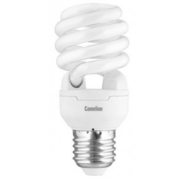 Лампа люминесцентная компактная LH FS T2 M 15Вт/827/E27 220В Camelion 10596