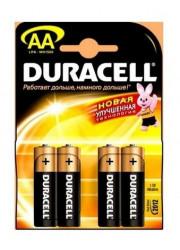 Элемент питания АА LR MN 1500/LR6 Basic BP4 (блист.4шт) Duracell Б0014045