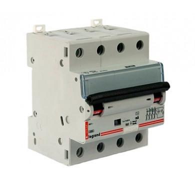 Выключатель диффер. тока 4п 4мод. C 32A 300mA тип AC 6/10kA DX3 Legrand