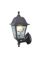 Светильник Lousanne бра вверх/вниз пластик мат. стекло с рисунком IP44 E27 60Вт DUWI 24144 7