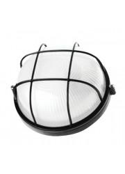 Светильник НПП 1102 черный круг решетка 100Вт IP54 ИЭК