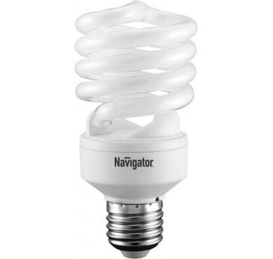 Лампа люминесцентная компакт. 94 054 NCL-SF10-25-840-E27 25Вт E27 спиральная 4000К Navigator 13103