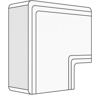 Угол плоский для кабель-канала 25х30 NPAN ДКС 01737