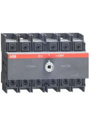 Рубильник реверсивный OT63 F3C 63A 1SCA105338R1001