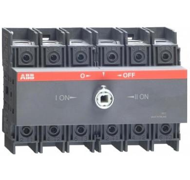 Рубильник реверсивный OT125 F3C 125A 1SCA105037R1001