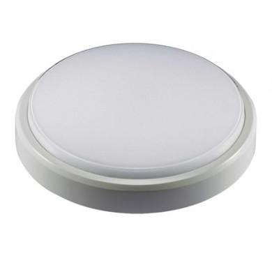 Светильник светодиодный LED PBH-PC2-RS SENSOR 12Вт 4000К IP65 круглый с датчиком движения бел. JazzWay 2850584A