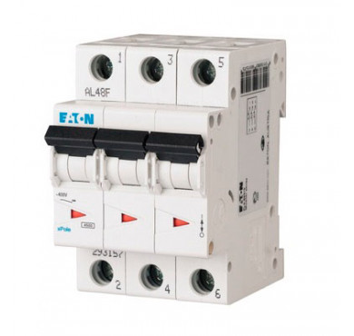 Автоматический выключатель 3п C 2А PL6-C2/3 6кА EATON 286599