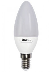 Лампа светодиодная PLED-SP C37 7Вт свеча 3000К тепл. бел. E14 530лм 230В JazzWay 1027818-2