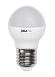 Лампа светодиодная PLED-SP-G45 7Вт шар 3000К тепл. бел. E27 540лм 230В JazzWay 1027863-2