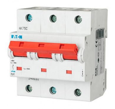 Автоматический выключатель 3п C 32А PLHT-C32/3 25кА EATON 248035