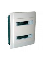 Бокс СП Practibox 2х12 мод. с шинами IP40 бел/бел. двер. Legrand 601118