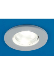 Светильник встраиваемый точечный Prima 63 0 01 R63 белый E27 ИТАЛМАК IT2316