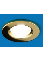 Светильник встраиваемый точечный Prima 63 0 04 R63 золото E27 ИТАЛМАК IT8088
